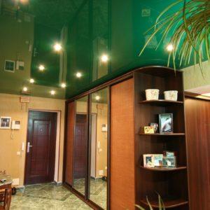 потолок ПВХ – цветной глянец Производcтво Германия ( Pongs) Площадь : 8 м2 Стоимость : 15 600 руб